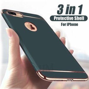 Luxury Full Cover Plating Cell Phone Cases For iPhone 12 11 Pro 6s 7 8 Plus 5 5s SE X XS Max XR PC Matte Hard Case Capa