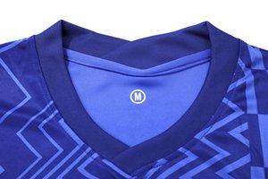 Adulto FC Home Jerseys meninos, meninas futebol roupa de manga curta uniformes de futebol jersey, com logotipo