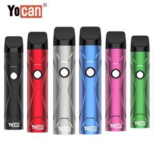Original Yocan X Pod Kit E Cigarette Starter Kits Wax Vaporizer With 10s Preheat VV Battery Replaceable Cartridge 6 Colors Portable Vape Pen