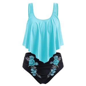 Swimsuitss Women Swimwear Floral Push-up Padded Plus Size Print Bikini Swimsuits Bathing Suit Cover Ups Sexy Women's Tracksuits