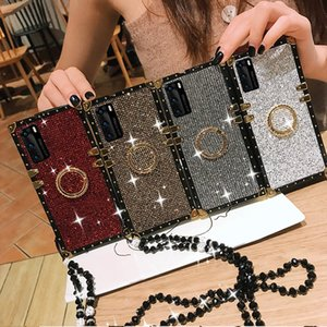 Luxury Classic embossed Square Phone Cases For iphone 12 Mini 11 Pro Max X Xs Xr 7 8 Plus designer case Protective cover shell