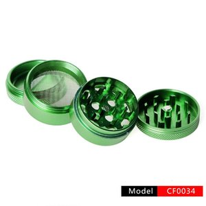 4-layer Smoking Tobacco Grinder Metal Grinders Pipe Tool Cf0034 Pipes