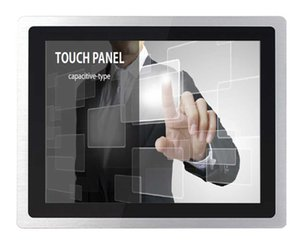 Outdoor Waterproof Lcd Touch Screen Monitor 19 Inch Industrial With Aluminum Steel Frame Monitors