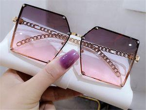 personalized fashion street photo set with diamond Polarized Sunglasses