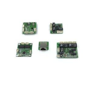 Mini PBCswitch Módulo PBC OEM Tamanho 3/4/5 Ports Network Switches PCB Placa Ethernet Switch 10 / 100Mbps Walkie Talkie