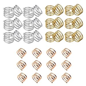 Pcs Metal Spiral Napkin Rings Round Holder Buckles For Wedding, Party, Gatherings,Table Décor