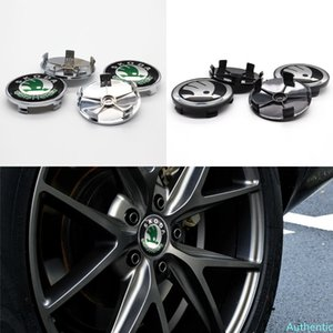 Car wheel cover, wheel center cover, 4pcs 60mm, used for SKODA-customized car modification parts, exquisite modification