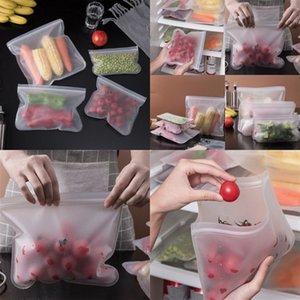 EVA Food Borsa fresca Frigorifero Pulisci Organizzatore Sigillato Rettangolo Transparent Storage Contenitori Cucina Riutilizzabile Frutta Nuova Arriva 3BC G2