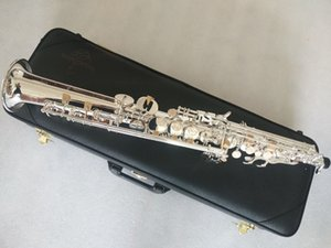 Top Yanagisawa S-992 Professional level New Straight Japan Silver-plated Soprano Saxophone Bb Musical instrument With Mouthpiece