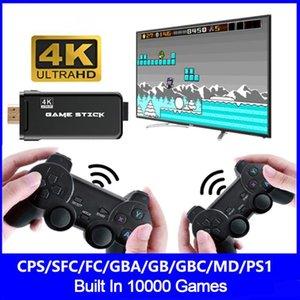 Wireless Handheld TV Build in 3000/10000 Classic 4K a 8 bit mini con controller controller joysticks gioco