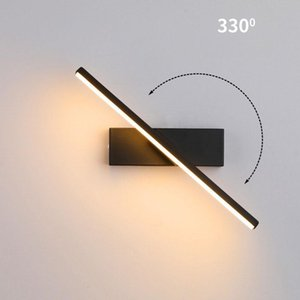 Modern Line Wall Lamp Nordic Led Lights Bedroom Bathroom Mirror Light Fixtures Sconce Bedside Lighting Bar Home Decor Lamps