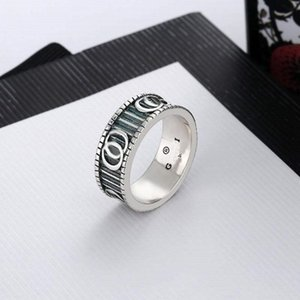 2021 Jewelry Men Women Fashion Luxury Ring Gold Couple S925 High Polished Gift Box A208
