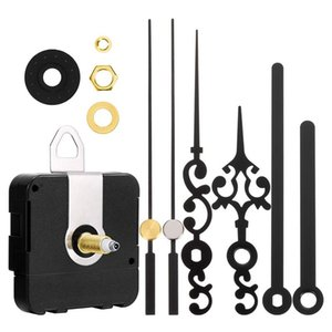 Repair Tools & Kits Long Shaft Clock Movement Mechanism Battery Operated DIY Parts Replacement With 2 Pairs Of Hands