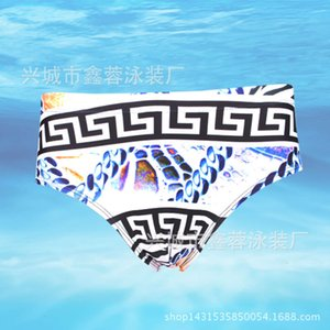 Swimwear Xinrong outer single sexy triangle quick drying hot spring Men's swimming trunks
