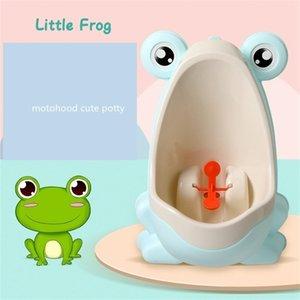 MOTOHOOD Potty Toilet Urinal Pee Trainer Wall-Mounted Children Baby Boy Bathroom Frog Kids Boys toile 210727