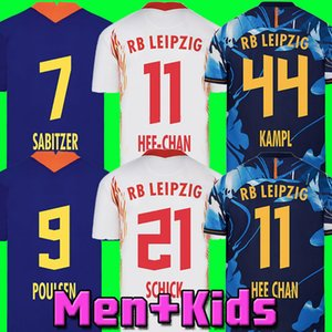 20 21 Soccer Jersey home away third WERNER Camiseta HEE-CHAN Maillot HALSTENBERG SABITZER 2020 2021 Football Shirt Kits 3rd CUNHA Uniform