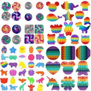 Fidget Toys Push Bubble Sensory Autismus Sonderbedürfnisse Stress Reliever Senwary Spielzeug für Kinderfamilie 1510 T2