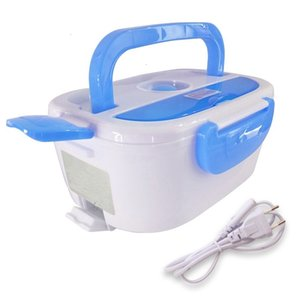 220v Lunch Box Portable Electric Heating Food Warmer Heater Rice Container Dinnerware Sets for Home Dropship