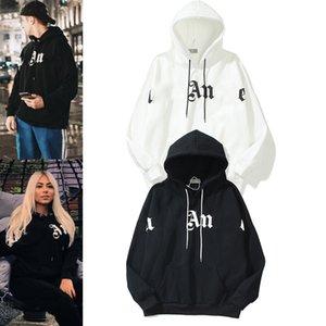 SS Warm Hooded Men's Hoodies Women's Fashion Street Wear Pullover Sweatshirt Loose Hoodie Couple Tops Men s Clothing S-XXL