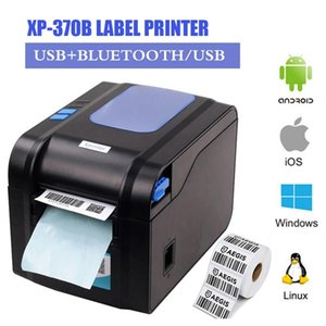 Printers Label Barcode Printer Thermal Receipt Or 20mm To 80mm Automatic Stripping XP- 370B