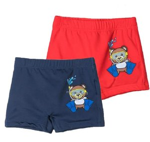 Summer Boy Board Shorts Baby Girl Swimwear Kids Wear Swimming Cartoon Letter Print Swimsuits Boys Swim Pant