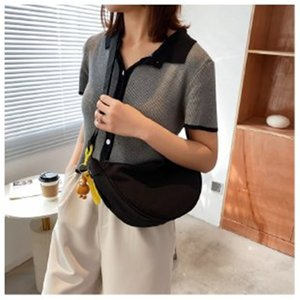 High quality fashion Moon Shaped shoulder bags tote hobo for women's Chest pack women handbags messenger Bag Nylon fabric Crossbody