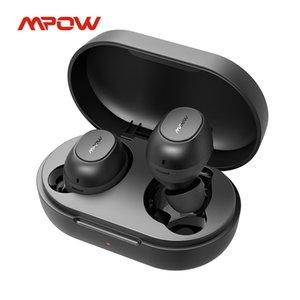 MPOW MDOTS Wireless наушники Bluetooth 5.0 настоящие беспроводные наушники с разбитой бас 20 часов Playback IPX6 Водонепроницаемый встроенный MIC