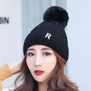 Autumn And Winter Solid Color Plush Pullover Sunshade Warm Hat Outdoor Street Leisure All-match Hat#g30