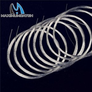 Maximumcatch 10 Pieces Tapered Leader Fly Fishing Line 9ft   12ft 15ft 0X-7X Nylon Clear 210609
