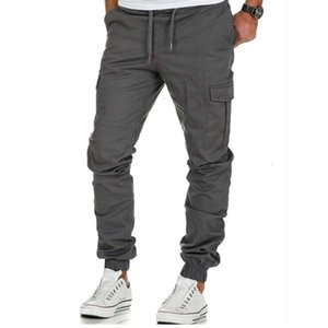 Fashion Men Fitness Tactical Cargo Pants Joggers Mens Workout Sweatpants Hip Hop Casual Male Trousers 3XL