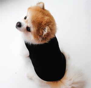 Apparel Vests Pet Supplies Clothes Summer Tshirt Black White Dog Vest Cute Yorkshire Terrier Comfortable Thin Section Shirts U5A6O Zqwnh