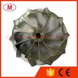 GT15-25 49.70 67.40mm 10+0 blades Turbocharger Turbo Billet compressor wheel Aluminum 2618 Milling wheel for Cartridge CHRA Core