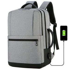 Backpack Unique High Quality 15.6 Inch Laptop Men Casual Waterproof Travel Fashion School For Teenagers