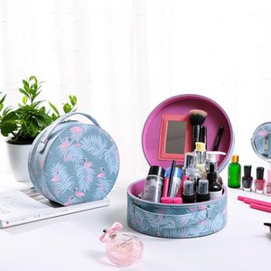 Double-layered Cosmetic Bag Ladies Waterproof Makeup Case Organization Travel Fashion Portable Make Up Wash Storage Bag1
