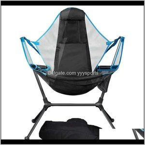 Camp Furniture Rocking Camping Swing Outdoor Folding Chair Seating Xrui3 Twwm6