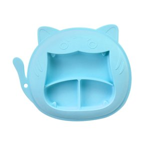 Suction Cup Plate Children Tableware Plates Food Feeding Dish Baby Goods Silicone Crockery Toddlers Dishware Antiskid Dinnerware