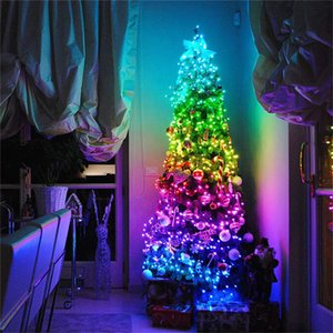 USB Bluetooth App Control String Lights Lamp Waterproof Outdoor Fairy Lights for Christmas Tree Decoration In Stock