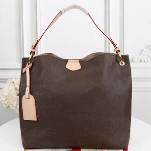 Большой / маленький кошелек для покупок сумок кожаные модные женские сумки сумки на плечо серийный номер даты код
