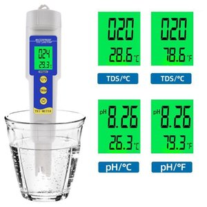 PH-986 Digital Meter 3 in 1 PH TEMP TDS 0-19990ppm Tester Water Quality Analyser Purity Detector for Pool 40%off1