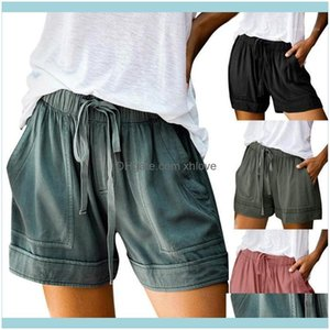 Childrens Swimwear Beach Equipment Water Sports & Outdoorscotton Women Summer Black Plus Size Shorts Lace Up Elastic Mid Waist Loose Wide Le