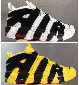 Mais novo mais uptemp0s suptempos homens mulheres sapatos de basquete Prm premium trigo ouro metaallic tri-colors 3m pippen sneakers