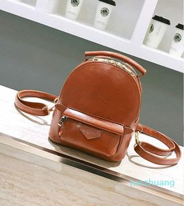 Designer- Sport Outdoor Packs Backpack Fashion School Bag Women PU Leather Designer Cool Style