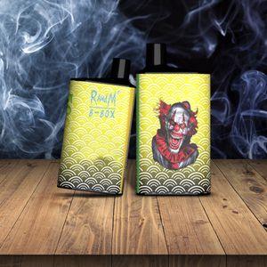 100% Genuine RandM B-Box 5000 puffs Disposable E cigarette R and M tornado vapes