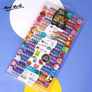 Pencils Montmartre 24 pens creative lead set training institution children gift cartoon rubber color 48 sets