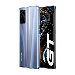Original Realme GT 5G Mobile Phone 12GB RAM 256GB ROM Snapdragon 888 Octa Core 64MP OTG NFC 4500mAh Android 6.43