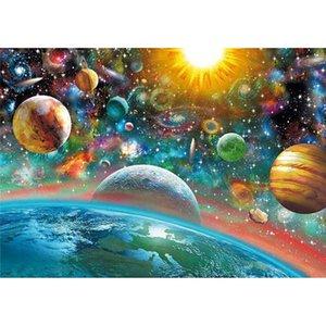 Алмазные наборы для взрослых для взрослых Вселенная планета DIY 5D полная дрель до глазок вышивка ремесло для дома декор 12x16in xbjk2106