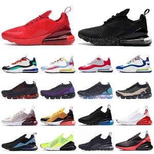 2021 REACT FLY 2.0 Koşu Ayakkabıları Üçlü Siyah Beyaz Kırmızı Kadın Erkek Chaussures Bred Olmak Gerçek Erkek Eğitmenler Açık Spor Sneakers