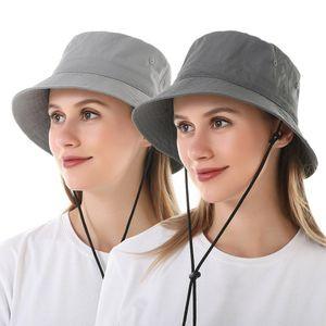 الصلبة اللون كلاسيكي الصياد قبعة الرجال والنساء الهيب هوب واسعة بريم الصيف sunhat للجنسين في الهواء الطلق السفر عارضة قبعة طوي دلو القبعات الفتيات