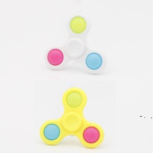 Push Poppers Pop It Anti Stress Relief Toys Fidget Toy Sensory Bubble Fingertip Finger Decompression Silicone BWB6293