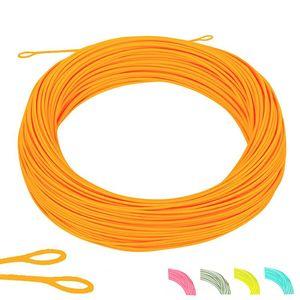 Floating Fishing Cord Weight Forward Line 6 Colors Polyethylene Line1F 2F 3F 4F 5F 6F 7F 8F Pesca Braid